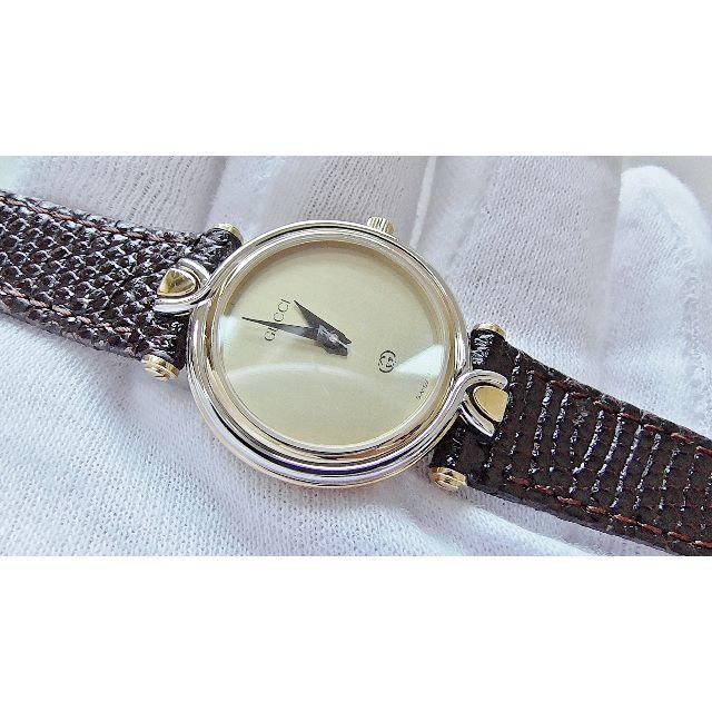 Gucci - GUCCI グッチ 4500L 女性用 クオーツ腕時計 電池新品 B2211メ②の通販 by hana|グッチならラクマ
