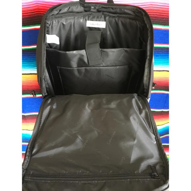 Calvin Klein(カルバンクライン)のCalvinKleinカルバンクラインUS限定多機能バッグパックビジネスリュック メンズのバッグ(バッグパック/リュック)の商品写真