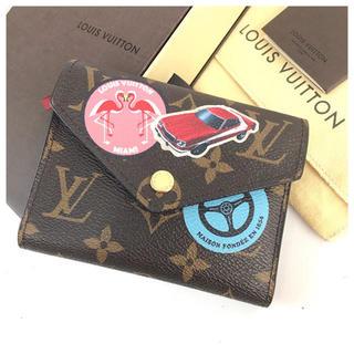 LOUIS VUITTON - ❤️美品❤️ ヴィトン ポルトフォイユ ヴィクトリーヌ M62151 新品同様の通販|ラクマ