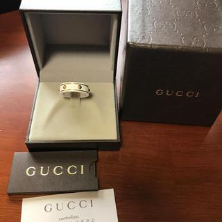 グッチ(Gucci)のグッチ❤️アイコンリング❤️レア(リング(指輪))
