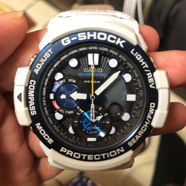 G-SHOCK - G-SHOCK ガルフマスター 白の通販 by さいとぅー1630's shop|ジーショックならラクマ