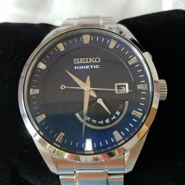 SEIKO - セール中☆SEIKO キネティック自動巻き 腕時計の通販 by ルーシー☆'s shop|セイコーならラクマ
