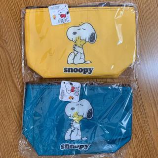 スヌーピー(SNOOPY)のスヌーピー 保冷ランチバッグ(ランチボックス巾着)