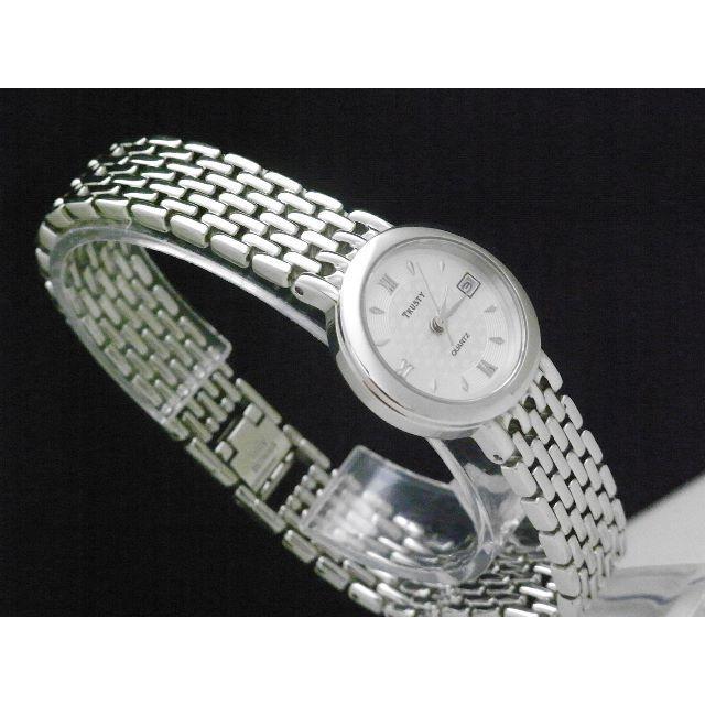 CYMA - TRUSTY by CYMA ラウンドフェイス 腕時計 シルバー デイト の通販 by Arouse 's shop|シーマならラクマ