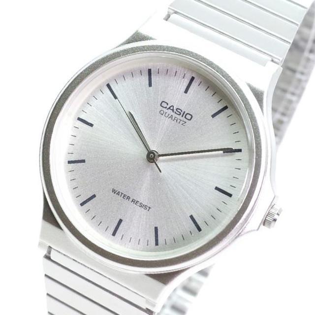 CASIO - カシオ CASIO 腕時計 メンズ MQ-24D-7E クォーツ シルバー の通販 by スマートサービス's shop|カシオならラクマ