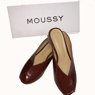 マウジー(moussy)のmoussy ミュール 箱付き(ミュール)