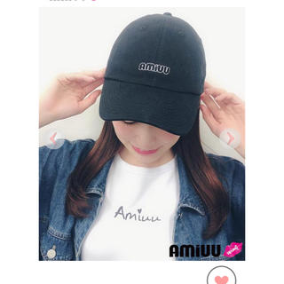 エヌエムビーフォーティーエイト(NMB48)のAmiuu wink キャップ(キャップ)