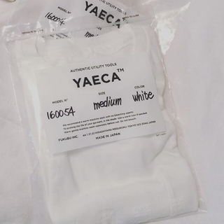 ヤエカ(YAECA)のyaeca ポケットTシャツ  パックTシャツ(Tシャツ(半袖/袖なし))