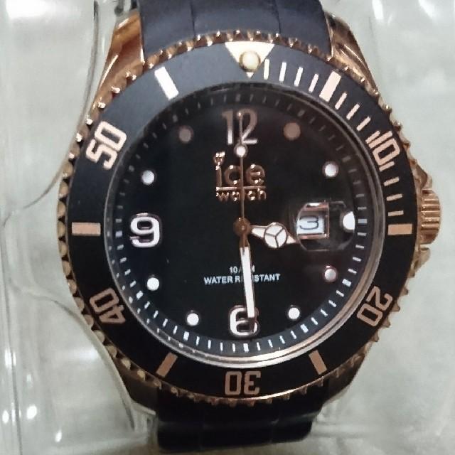 ice watch - 稼働中 アイスウォッチ ダイバー ビッグフェイス 腕時計の通販 by みゅ|アイスウォッチならラクマ