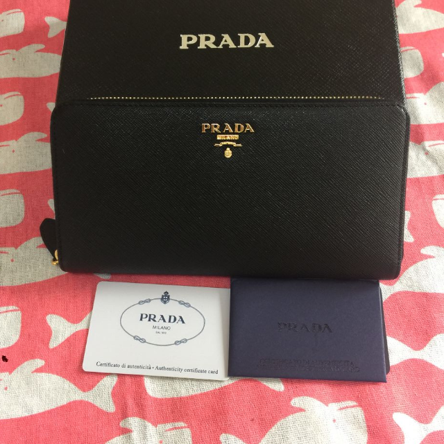 PRADA - プラダ PRADA 長財布 黒 新品本物の通販 by WSJB's shop|プラダならラクマ