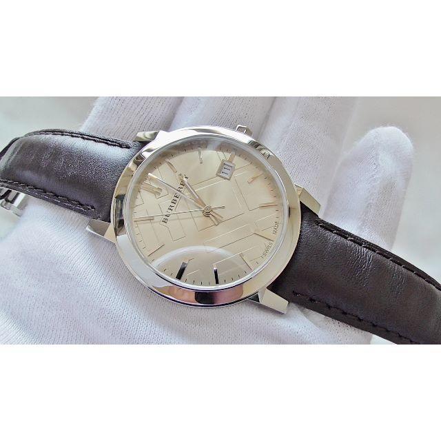 BURBERRY - BURBERRY バーバリー   男性用 クオーツ腕時計 電池新品 B2216メの通販 by hana|バーバリーならラクマ