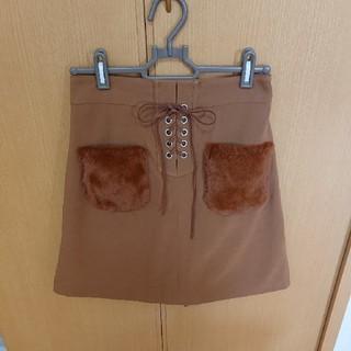 シマムラ(しまむら)のファースカート♪(ひざ丈スカート)