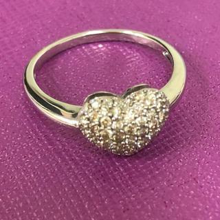 ダイヤモンドリングパヴェ0.5カラット18号(リング(指輪))