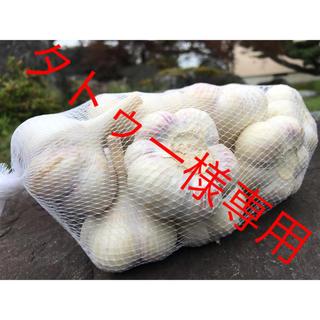 タトゥー様専用 5kg 送料無料 福地ホワイト 乾燥にんにく Lサイズ(野菜)