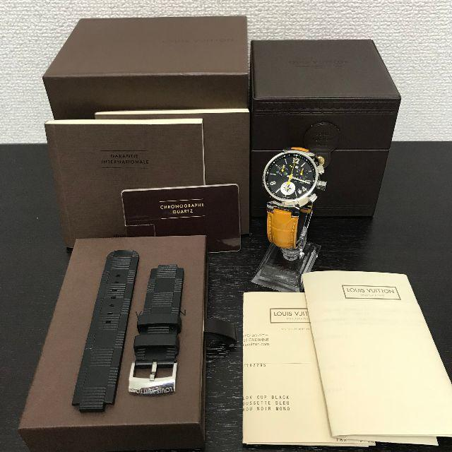 LOUIS VUITTON - ルイヴィトン 腕時計 タンブール 19年9月電池交換済 美品!の通販 by yo-'s shop ルイヴィトンならラクマ