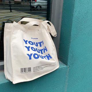 """アイスー(i-SOOK)の''YOUTH"""" Tote Bag(トートバッグ)"""