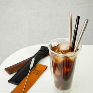 スターバックスコーヒー(Starbucks Coffee)の海外スターバックス  大人気!!リユーザブルストロー8mm(その他)