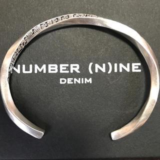 ナンバーナイン(NUMBER (N)INE)の五線譜バングル(バングル/リストバンド)