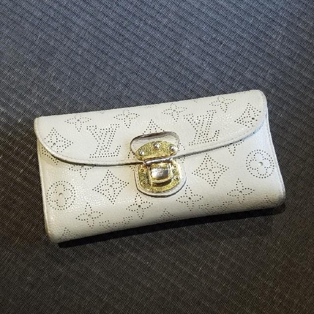 ルイヴィトン マヒナ 長財布 三つ折りの通販 by luvs15's shop|ラクマ