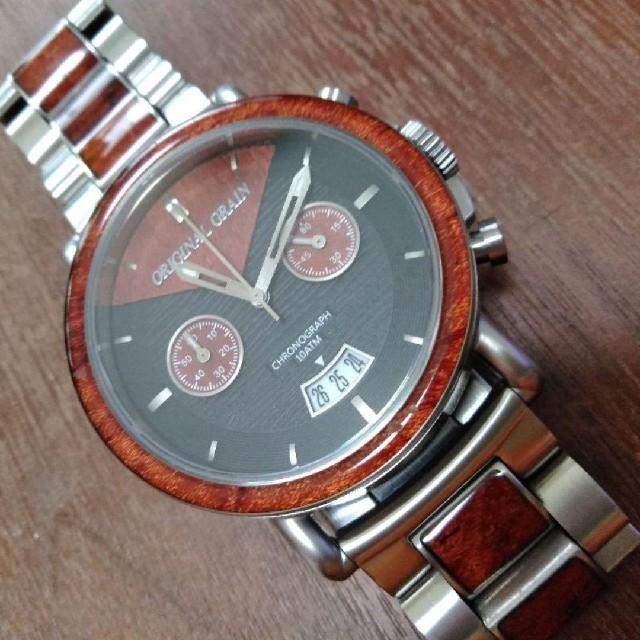 オリジナル グレイン  腕時計 メンズ  の通販 by ヒロ's shop|ラクマ