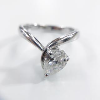 ダイヤモンド 1カラット オーバー pt900 D1.046ct 指輪 11号(リング(指輪))