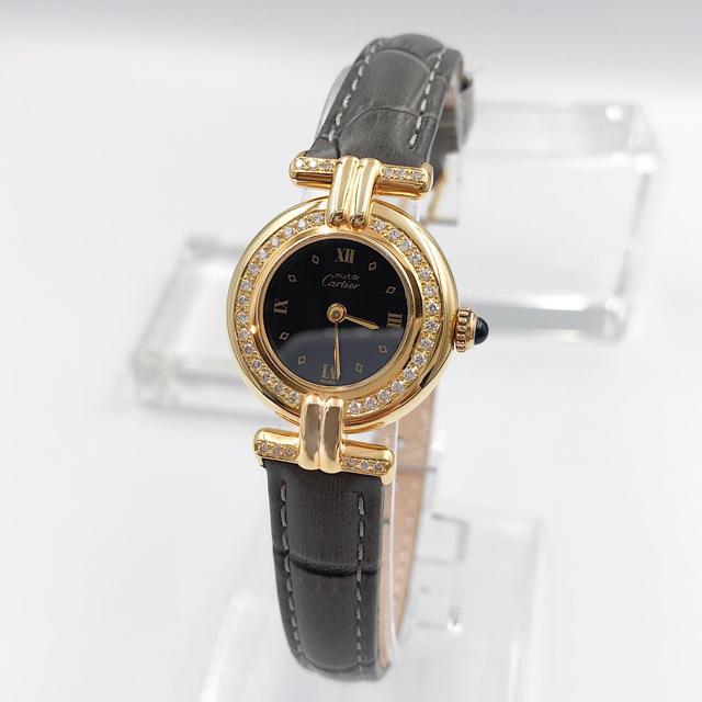 Cartier - 【仕上済/ベルト二色付】カルティエ コリゼ ゴールド ダイヤ レディース 腕時計の通販 by LMC|カルティエならラクマ
