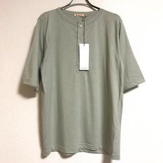 マルニ(Marni)の新品 MARNI マルニ カットソー ヘンリーネック(Tシャツ/カットソー(七分/長袖))