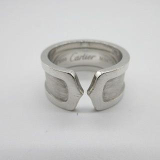 カルティエ(Cartier)の197/Cartier/カルティエ 2Cワイドリング K18WG(リング(指輪))