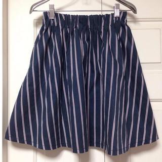 ローリーズファーム(LOWRYS FARM)のストライプフレアスカート♡(ミニスカート)