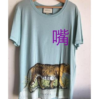 low priced 01de2 4bce5 GUCCI タイガー ヴィンテージ加工 Tシャツ 最終値下げ