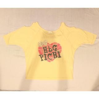 エイチビージー(HbG)の☆肩空きTシャツ☆(Tシャツ(半袖/袖なし))