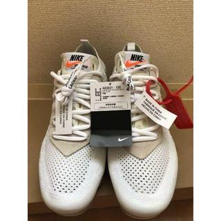 ナイキ(NIKE)のNIKE×off-white ヴェイパーマックス 25.5cm(スニーカー)