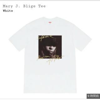シュプリーム(Supreme)のMサイズ supreme mary j. blige tee(Tシャツ/カットソー(半袖/袖なし))