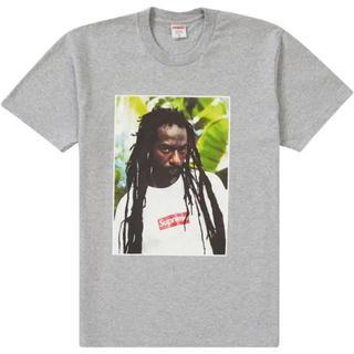 シュプリーム(Supreme)のSupreme Buju Banton Tee グレーMサイズ(Tシャツ/カットソー(半袖/袖なし))