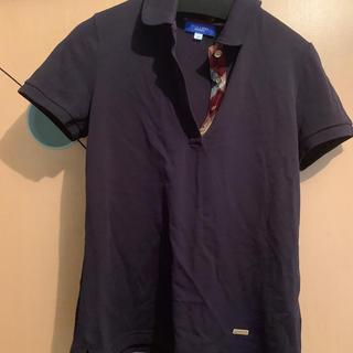 バーバリーブルーレーベル(BURBERRY BLUE LABEL)のブルーレーベルクレストブリッジ 38 ポロシャツ(ポロシャツ)