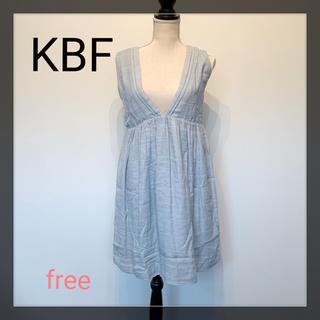ケービーエフ(KBF)のKBF サロペット ワンピース コットン100%(サロペット/オーバーオール)