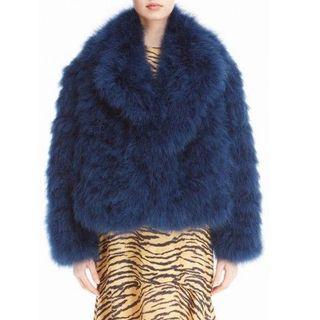 トーガ(TOGA)の新品 TOGA Feather jacket フェザージャケット(毛皮/ファーコート)