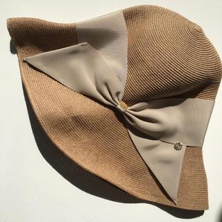バーニーズニューヨーク(BARNEYS NEW YORK)のアシーナニューヨーク リサコ 帽子(麦わら帽子/ストローハット)