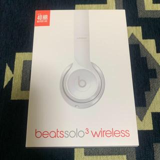 ビーツバイドクタードレ(Beats by Dr Dre)のbeats solo3 wireless(ヘッドフォン/イヤフォン)