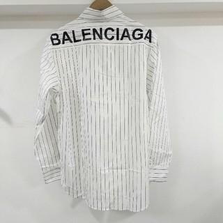 バレンシアガ(Balenciaga)のお勧め美品 長袖 シャツ BALENCIAGA メンズ 秋コーデ 新品(シャツ)