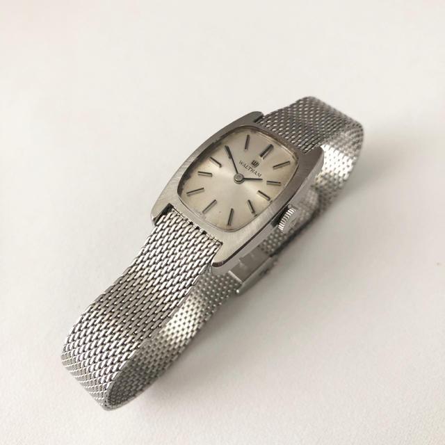 Waltham - アンティーク  WALTHAM レディース 手巻き腕時計 スイス製 稼動品の通販 by じゅん's shop|ウォルサムならラクマ