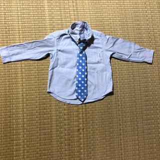 ミキハウス(mikihouse)のミキハウス Yシャツ ネクタイ(ドレス/フォーマル)