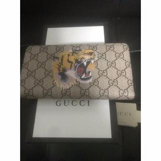 Gucci - GGキャンバス ラウンドファスナーの通販|ラクマ