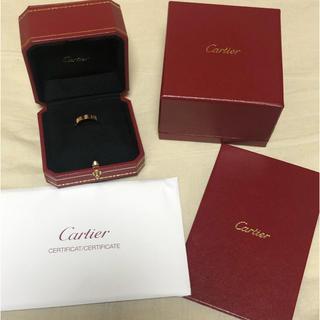 カルティエ(Cartier)のCartier カルティエ ミニラブリング 18k(リング(指輪))
