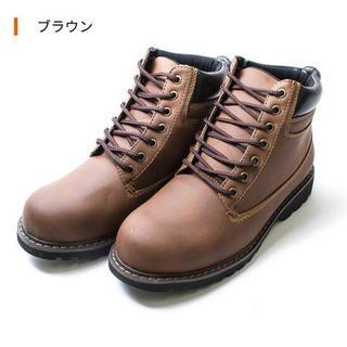 新品 マウンテンブーツ tas-0001/25~27.5cm  ブラウン(ブーツ)
