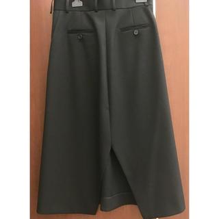 セリーヌ(celine)のセリーヌ バックスリットスカート 黒 36 oldceline フィービー(ひざ丈スカート)