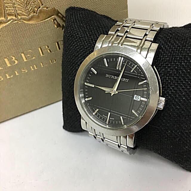BURBERRY - 鑑定済み 正規品 バーバリー BURBERRY 腕時計 送料込みの通販 by 真's shop|バーバリーならラクマ