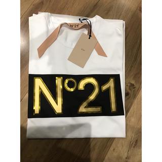 ヌメロヴェントゥーノ(N°21)の可愛すぎ! N°21 ヌメロヴェントゥーノ  本物 Tシャツ カットソー(Tシャツ(半袖/袖なし))
