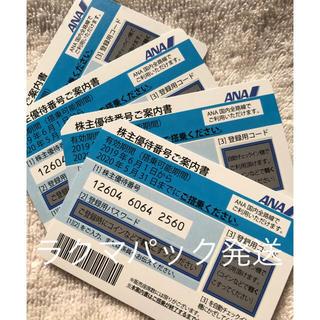 エーエヌエー(ゼンニッポンクウユ)(ANA(全日本空輸))の専用  ANA優待 20200531迄(その他)