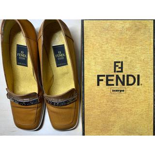 フェンディ(FENDI)の【FENDI】フェンディ ローファー 革靴(ローファー/革靴)